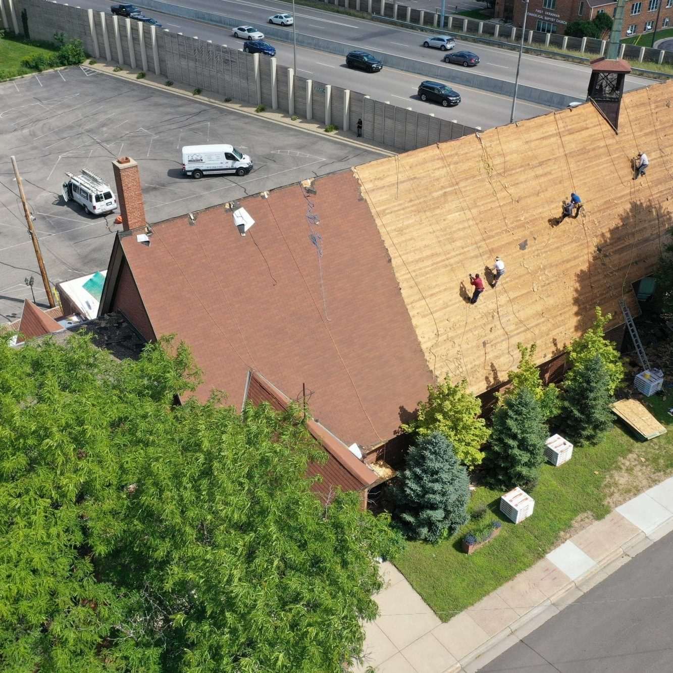 Church Commercial Roof Installation