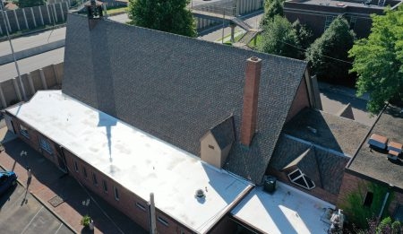Church Commercial Roof Installation 2